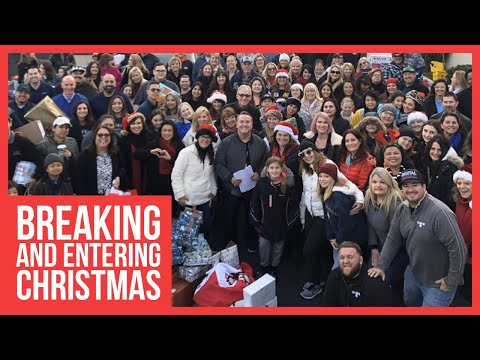 Giving back this holiday with breaking and entering christmas 2019