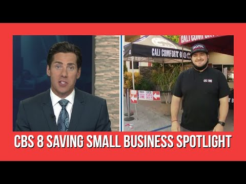 Saving Small Business | Cali BBQ on CBS News 8 San Diego