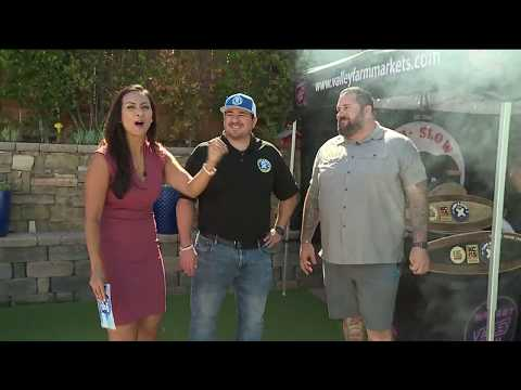 Turf and surf bbq championship talk and cooking on fox 5 in san diego