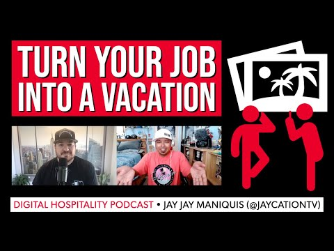 Your job can also be a vacation | jay jay maniquis (jaycation) | dh113