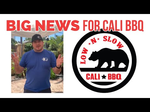 Big Cali BBQ Announcement | Restaurant News Update
