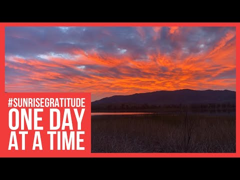 One Day at a Time: Sunrise Gratitude and Sobriety