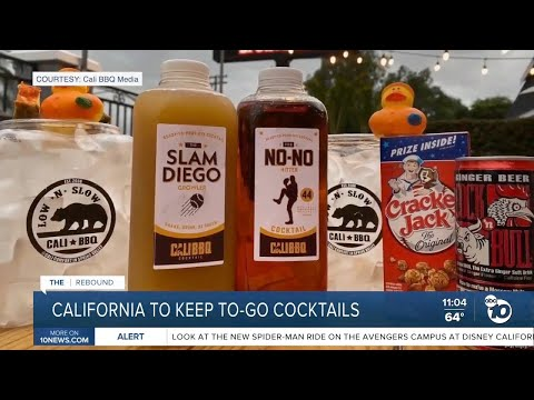 California cocktails to go will continue. For now. | cali bbq on the rebound (abc10 news)