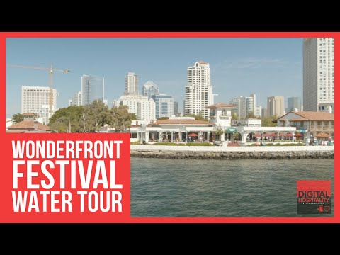 Wonderfront festival preview tour in san diego bay