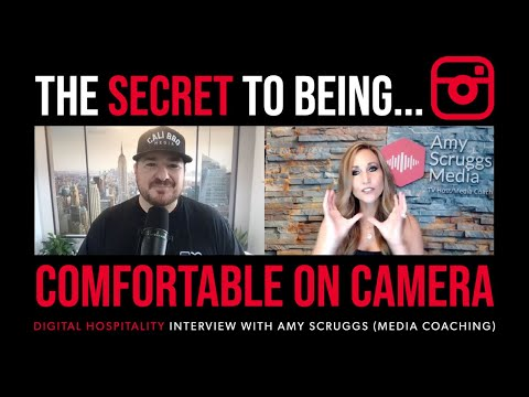 The secrets to becoming more comfortable on camera | amy scruggs media | dh111