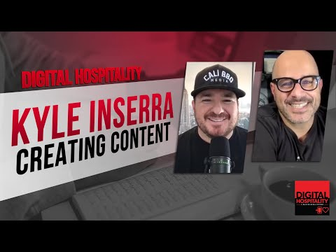 The secret sauce to creating content online   kyle inserra on digital hospitality podcast