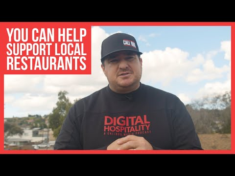 A difficult message to send | how you can help small restaurants survive