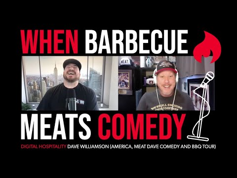 Comedy meats barbecue | dave williamson (america, meat dave comedy + bbq tour) | dh092