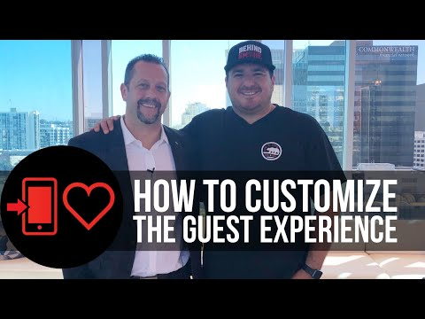 How to customize the guest experience featuring chans rock of the carte hotel (dh 004)