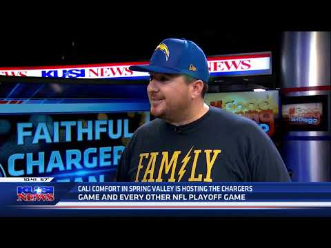 Shawn walchef explains why cali comfort bbq is a faithful chargers bar