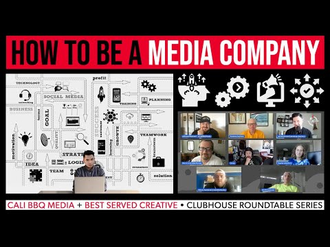 How to become a media company | best served creative + cali bbq media collab | dh112