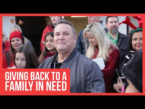 Helping a family in need with tommy sablan and his breaking and entering christmas