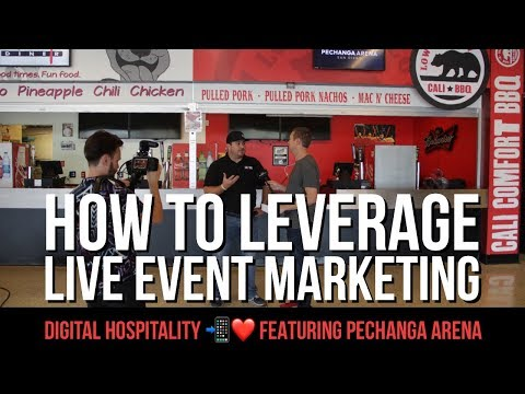 How to leverage live event marketing featuring pechanga arena (dh 005)