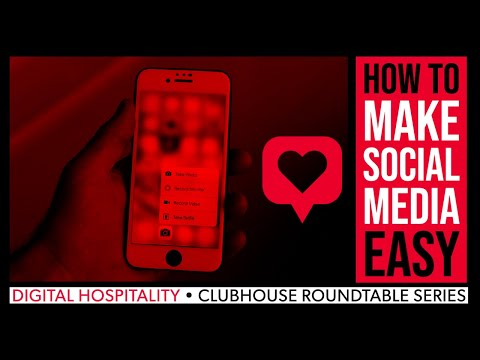 How to make social media easier on you | clubhouse roundtable series (audio) | dh117