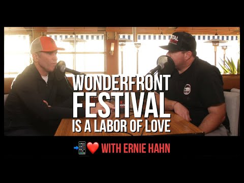 "Wonderfront festival is a labor of love for ""mr. San diego"" ernie hahn (dh 007)"