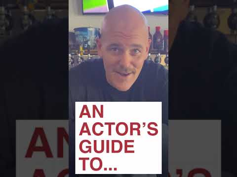 An actor's guide to bartending   #shorts