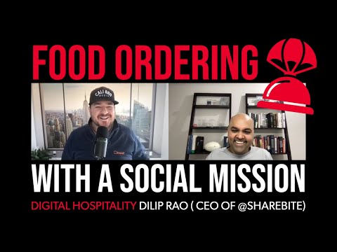 Food ordering app with a social mission   dilip rao (sharebite)   dh094