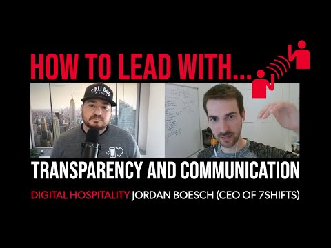 How to lead with transparency and communication | jordan boesch (7shifts ceo) | dh097