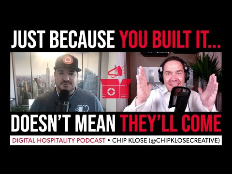 """The restaurant business is not """"field of dreams""""   chip klose (@chipklosecreative)   dh118"""