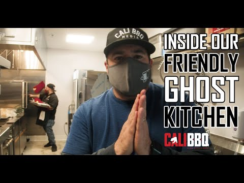 Touring a friendly ghost kitchen at the san diego barrio food hub | cali bbq behind the smoke