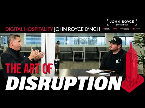 The art of disruption for the serial entrepreneur | john royce lynch (pcma) | dh090