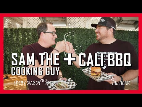 Sam the cooking guy + cali bbq father's day 2021 collaboration   not not tacos and samburgers