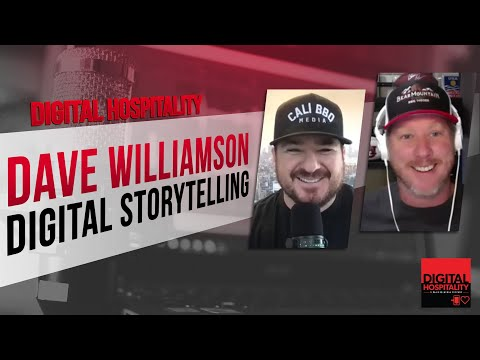 Are there rules to comedy and storytelling? | digital hospitality featuring comedian dave williamson