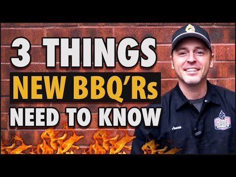 3 tips for the new bbq cook