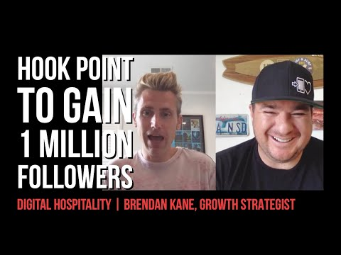 Brendan Kane Interview | The Hook Point to Gain One Million Followers | DH041