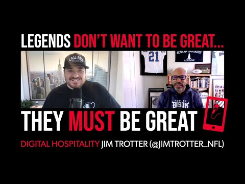 Legends don't want to be great — they must be great | jim trotter (nfl media) | dh091