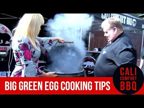 Bbq pitmasters show how to cook tri-tip on a big green egg