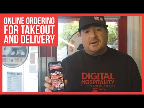 Social Distancing Made Simple with Online Ordering