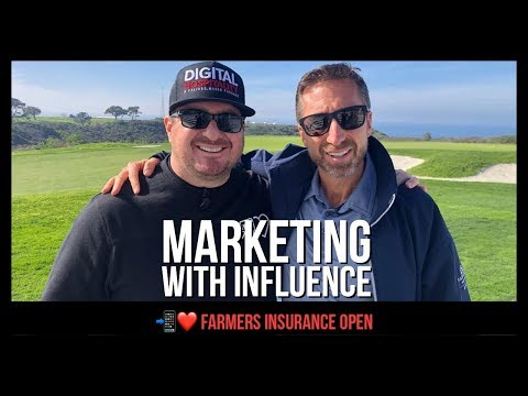 Marketing with influence | farmers insurance open (dh 017)
