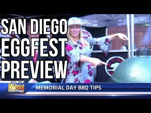 San diego eggfest 2019 cooking tips — good morning san diego (kusi tv)