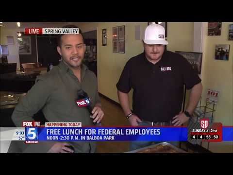 Yelp san diego feeds 500 federal government employees during shutdown