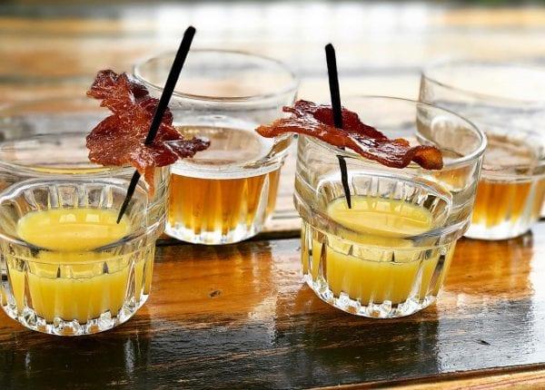 Enjoy happy hour cocktails at Cali BBQ