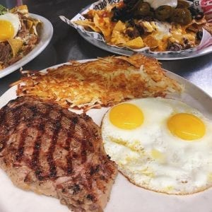 Steak & Eggs at Cali Comfort BBQ