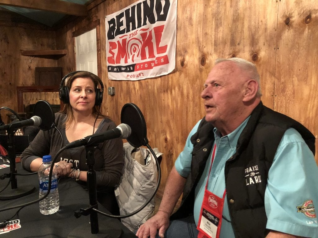 Bbq legend mike mills and amy mills were guests on the behind the smoke: bbq war stories podcast