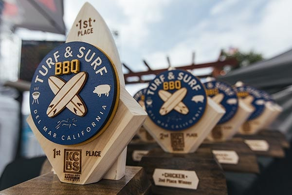 Bet on BBQ Turf and Surf event in Del Mar