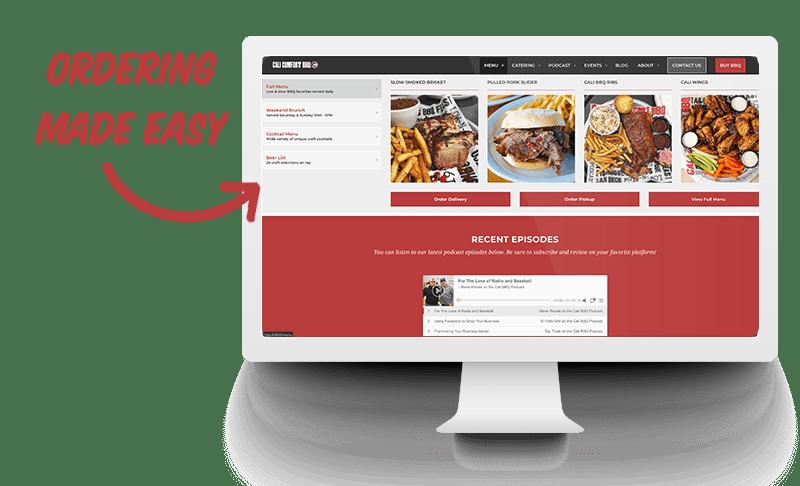 Cali comfort bbq online ordering