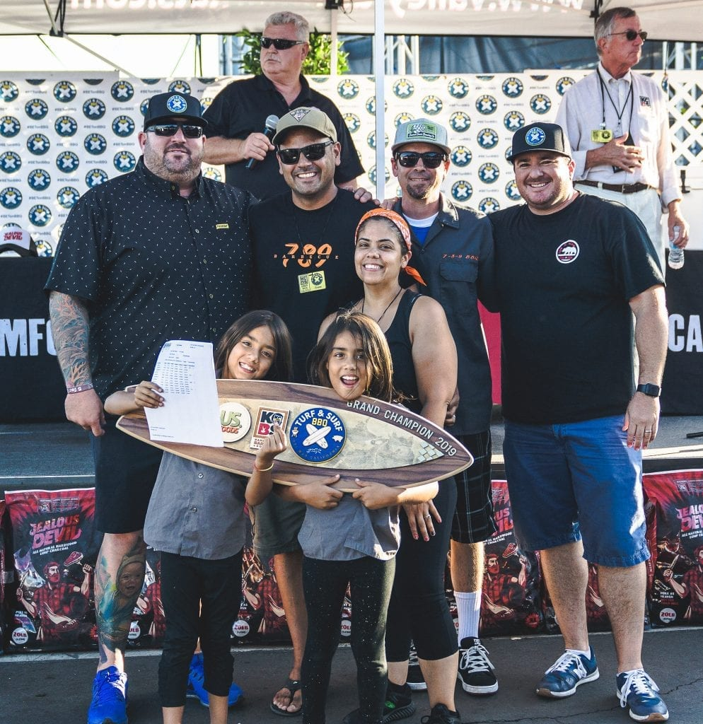 Winners of the 2019 #betonbbq event