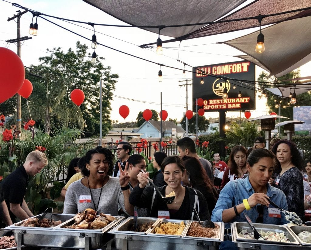 Private parties at cali comfort bbq
