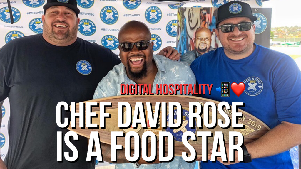 Chef David Rose on the Digital Hospitality podcast