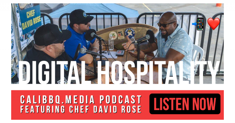 Digital hospitality podcast featuring chef david rose