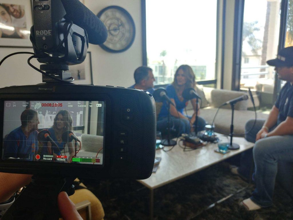 Recording Digital Hospitality from the home of Howard and Debra Solomon from Solomon Leaders 2.0