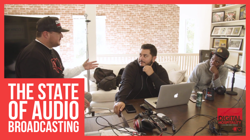 The State of Audio Broadcasting, a conversation in the Scott Kaplan Studios