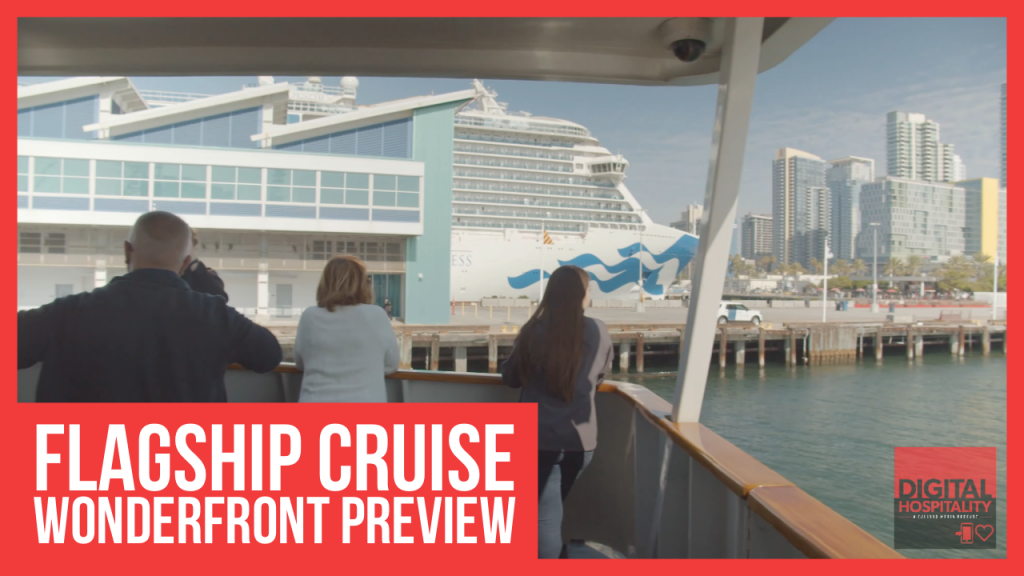 Flagship Cruises Wonderfront preview tour
