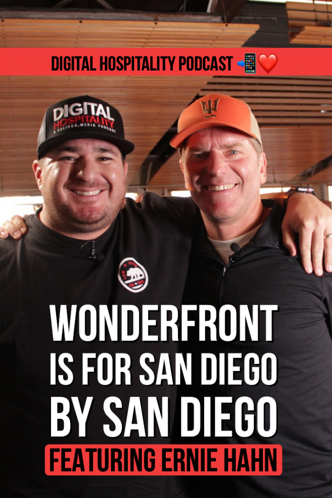 Digital hospitality featuring wonderfront festival and ernie hahn
