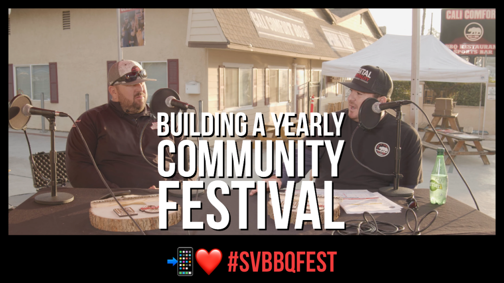 How to host an annual festival featuring the Spring Valley BBQ Festival