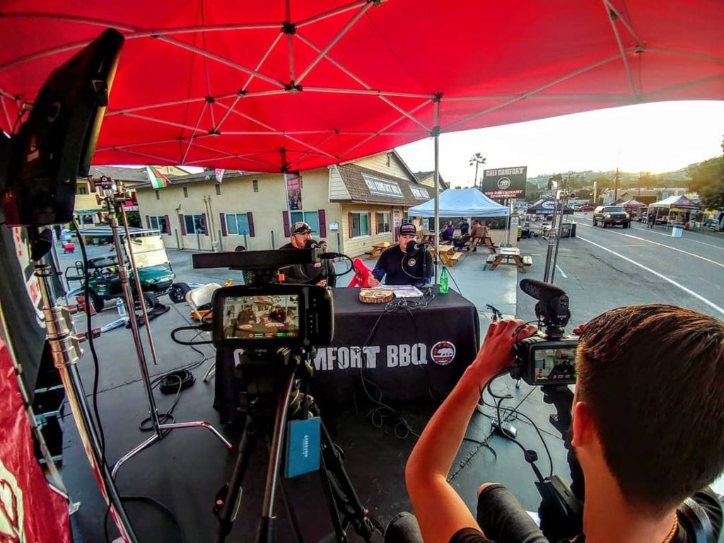 Cali BBQ Media records Digital Hospitality from the Spring Valley BBQ Festival 2019
